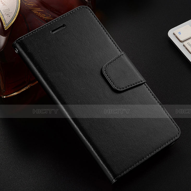 Handytasche Stand Schutzhülle Leder Hülle L03 für Huawei Honor 8X Schwarz Plus