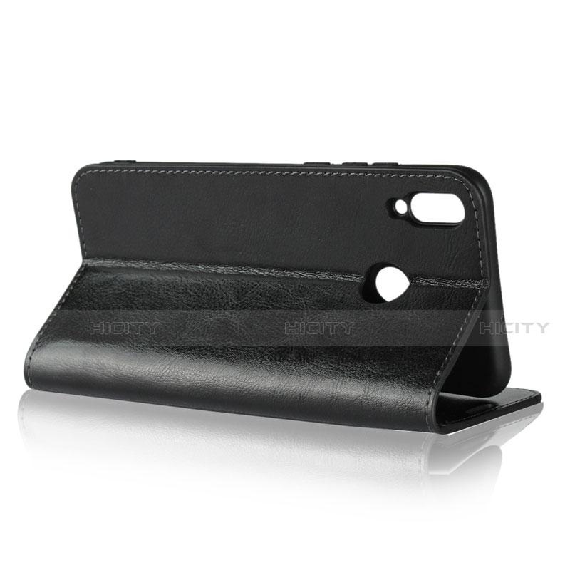 Handytasche Stand Schutzhülle Leder Hülle L08 für Huawei Honor 8X groß