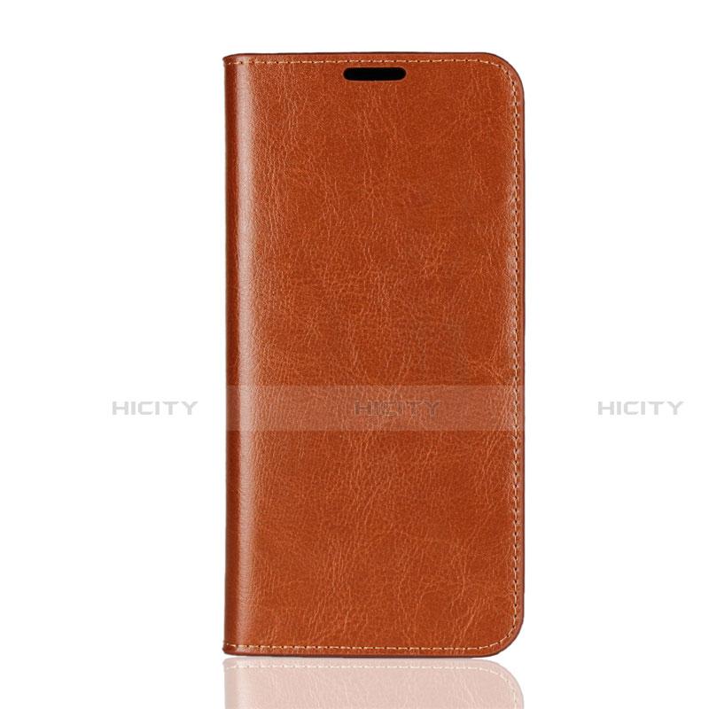 Handytasche Stand Schutzhülle Leder Hülle L08 für Huawei Honor 8X Orange Plus