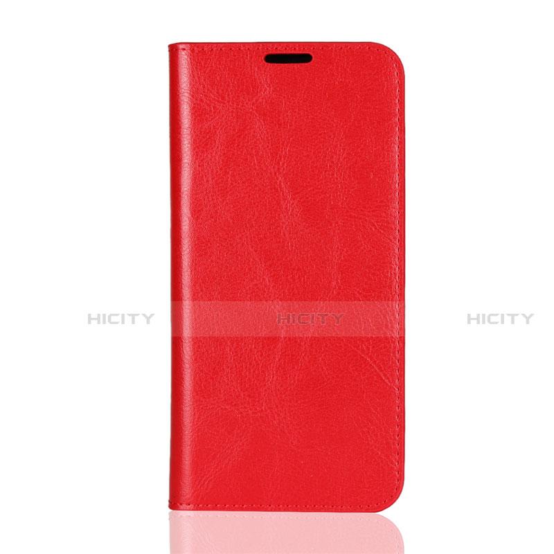 Handytasche Stand Schutzhülle Leder Hülle L08 für Huawei Honor 8X Rot Plus