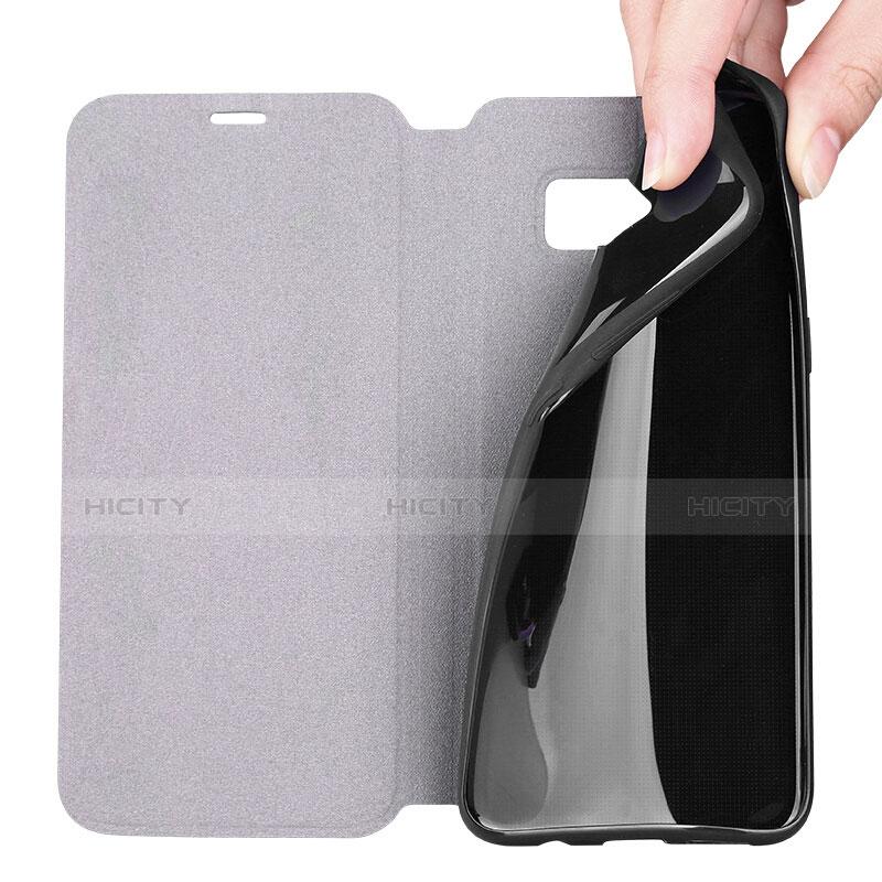 Handytasche Stand Schutzhülle Leder P01 für Samsung Galaxy S8 groß