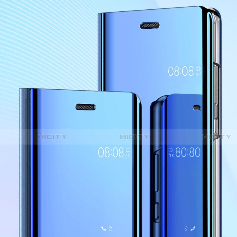 Handytasche Stand Schutzhülle Leder Rahmen Spiegel Tasche für Huawei Honor 20 Lite groß
