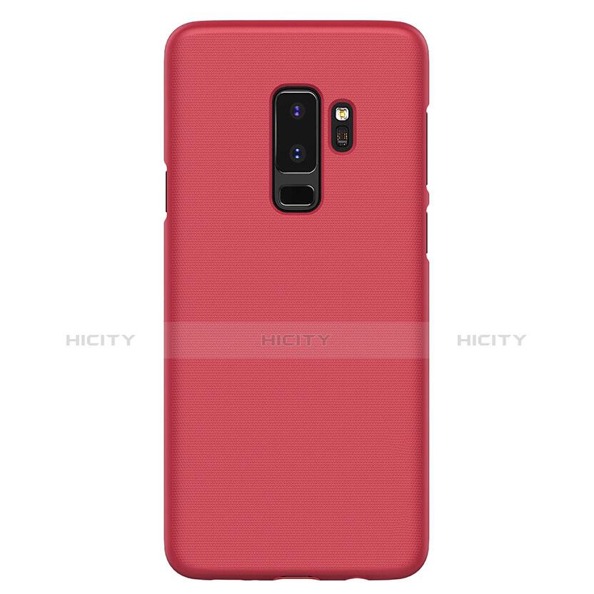 Hülle Kunststoff Schutzhülle Matt M02 für Samsung Galaxy S9 Plus Rot groß