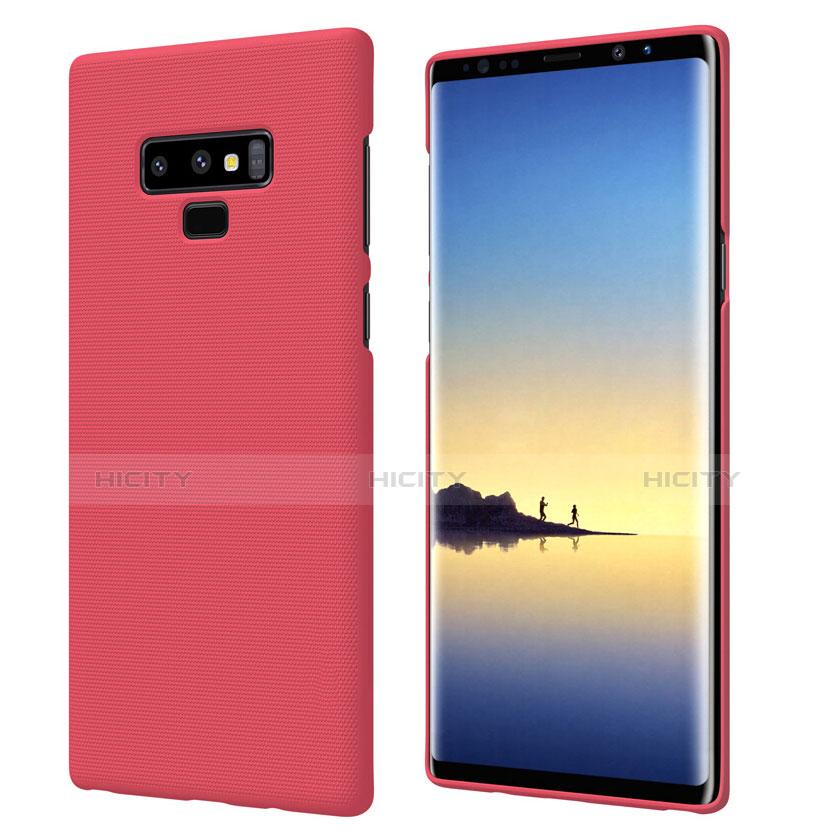 Hülle Kunststoff Schutzhülle Matt M04 für Samsung Galaxy Note 9 Rot Plus