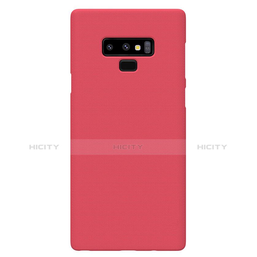 Hülle Kunststoff Schutzhülle Matt M04 für Samsung Galaxy Note 9 Rot groß