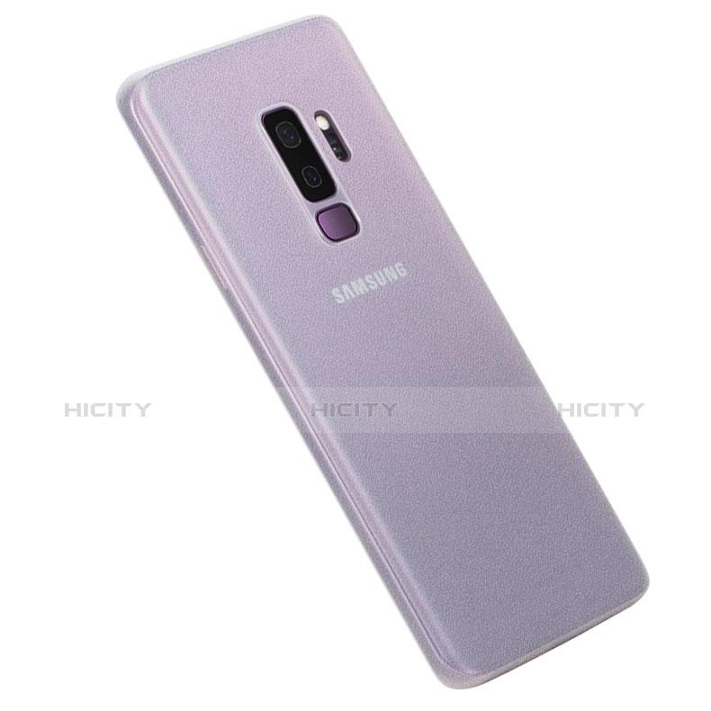Hülle Ultra Dünn Schutzhülle Tasche Durchsichtig Transparent Matt für Samsung Galaxy S9 Plus Klar Plus