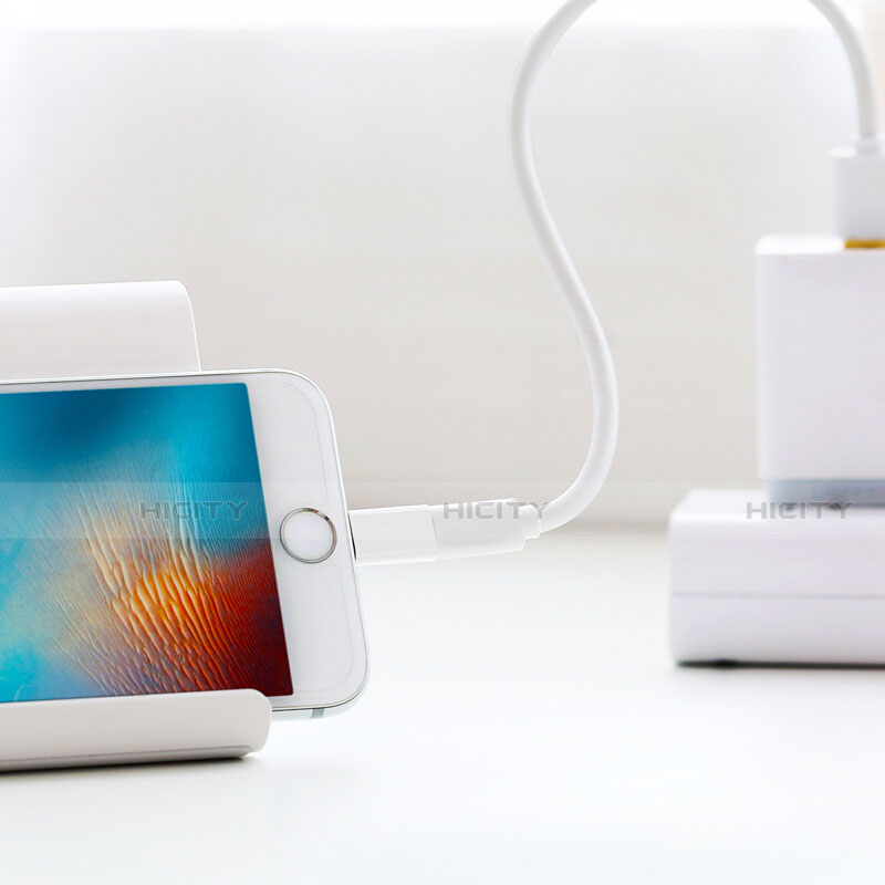 Kabel Android Micro USB auf Lightning USB H01 für Apple iPhone 11 Weiß