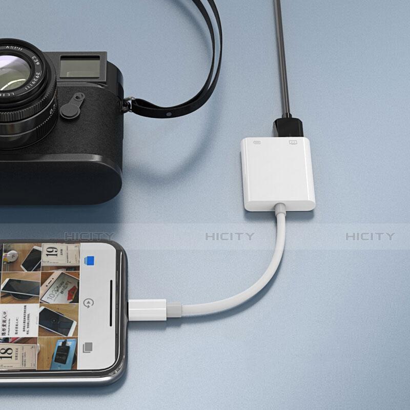 Kabel Lightning auf USB OTG H01 für Apple iPhone 11 Pro Weiß