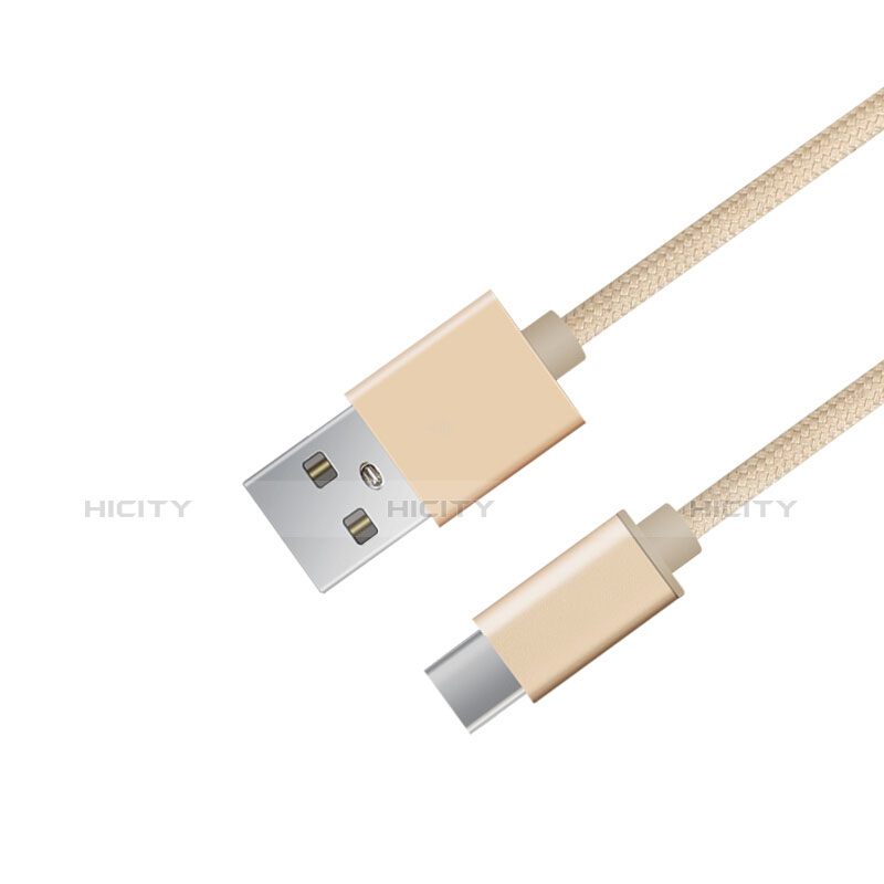 Kabel Type-C Android Universal T04 Gold groß