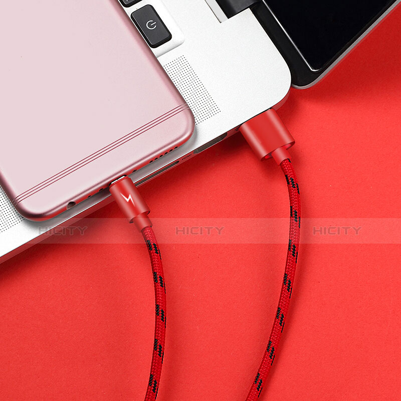 Kabel USB 2.0 Android Universal A03 Rot groß