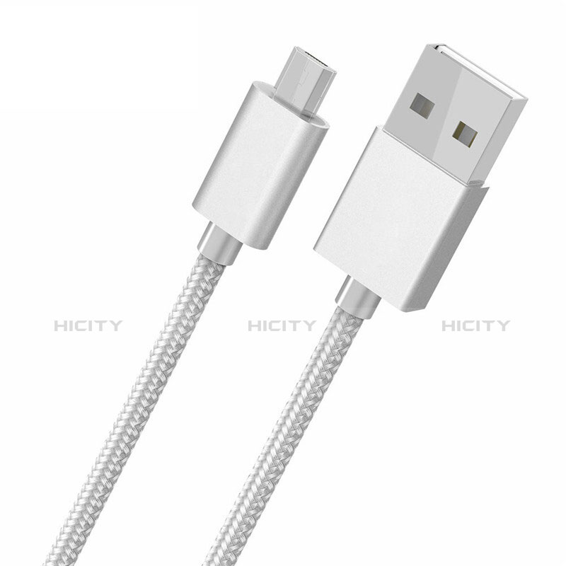 Kabel USB 2.0 Android Universal A05 Weiß Plus