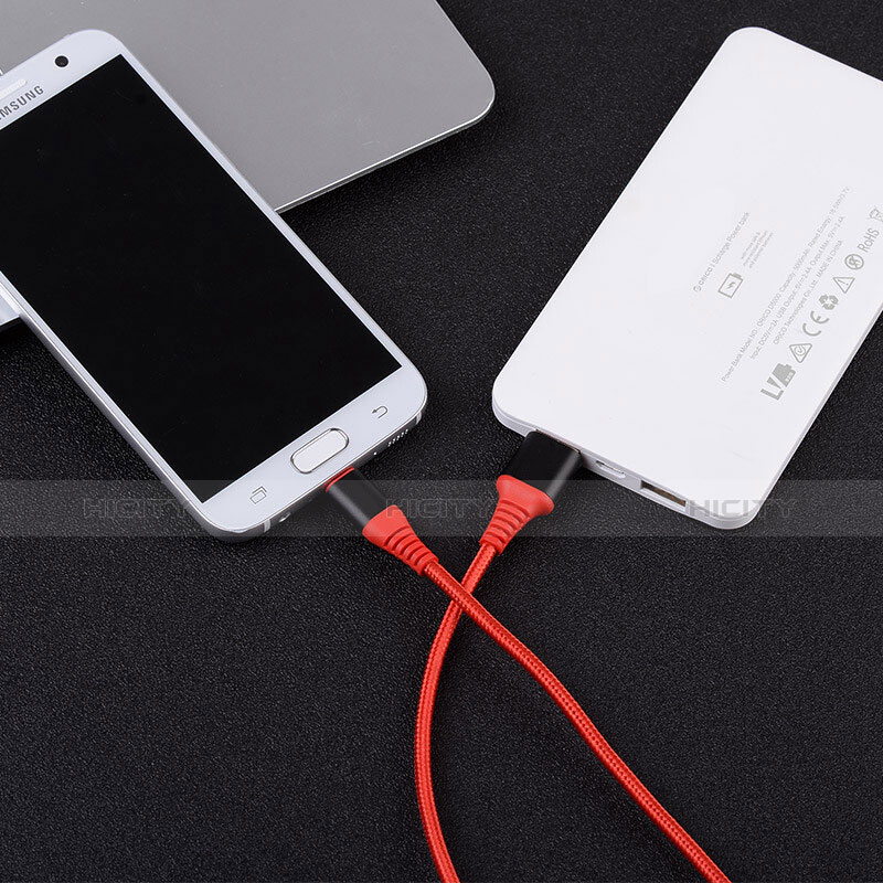 Kabel USB 2.0 Android Universal A06 Rot groß