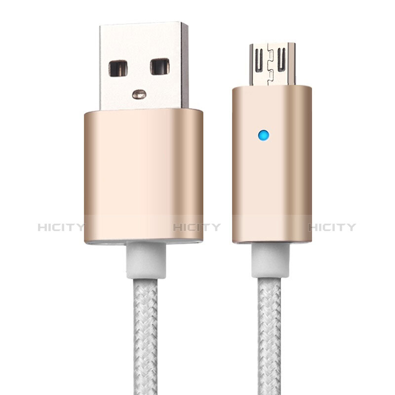 Kabel USB 2.0 Android Universal A08 Gold groß
