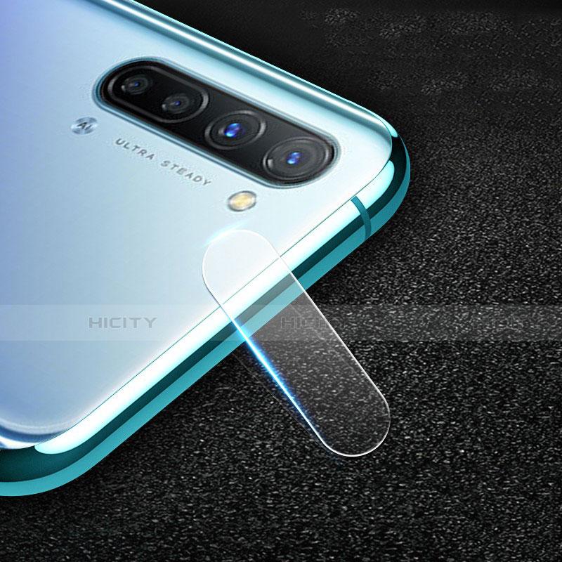 Kameraschutz Gehärtetes Glas Glasfolie Skins zum Aufkleben C01 Panzerglas für Oppo Reno3 A Klar groß