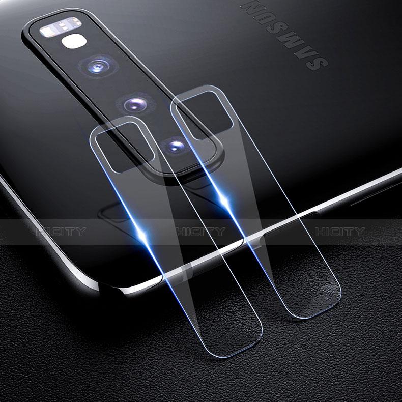 Kameraschutz Gehärtetes Glas Glasfolie Skins zum Aufkleben Panzerglas für Samsung Galaxy S10 Klar Plus