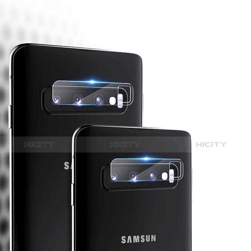 Kameraschutz Gehärtetes Glas Glasfolie Skins zum Aufkleben Panzerglas für Samsung Galaxy S10 Klar groß