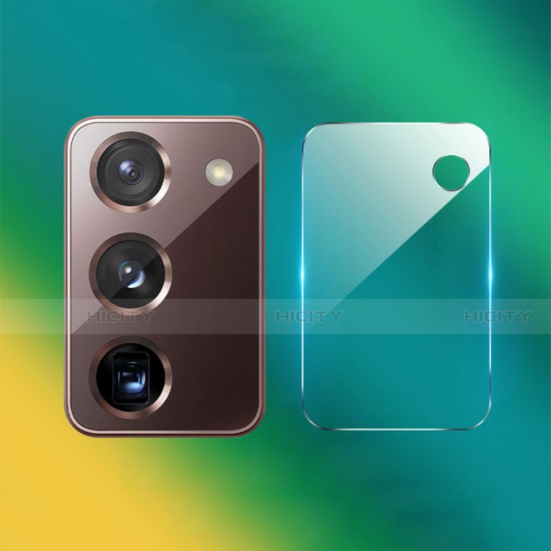 Kameraschutz Gehärtetes Glas Glasfolie Skins zum Aufkleben Panzerglas für Samsung Galaxy Z Fold2 5G Klar Plus