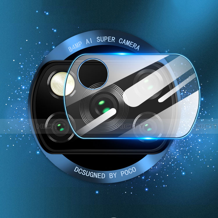 Kameraschutz Gehärtetes Glas Glasfolie Skins zum Aufkleben Panzerglas für Xiaomi Poco X3 NFC Klar Plus