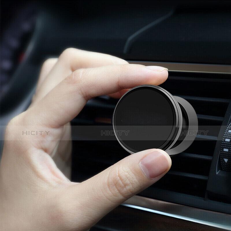 KFZ Halter Halterungung Lüftungs Auto Handy Halter Halterung Magnet Universal C01 Schwarz groß