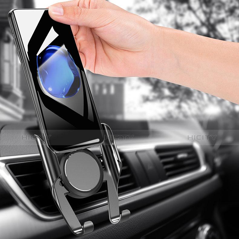 KFZ Halter Halterungung Lüftungs Auto Handy Halter Halterung Universal A06 Schwarz groß