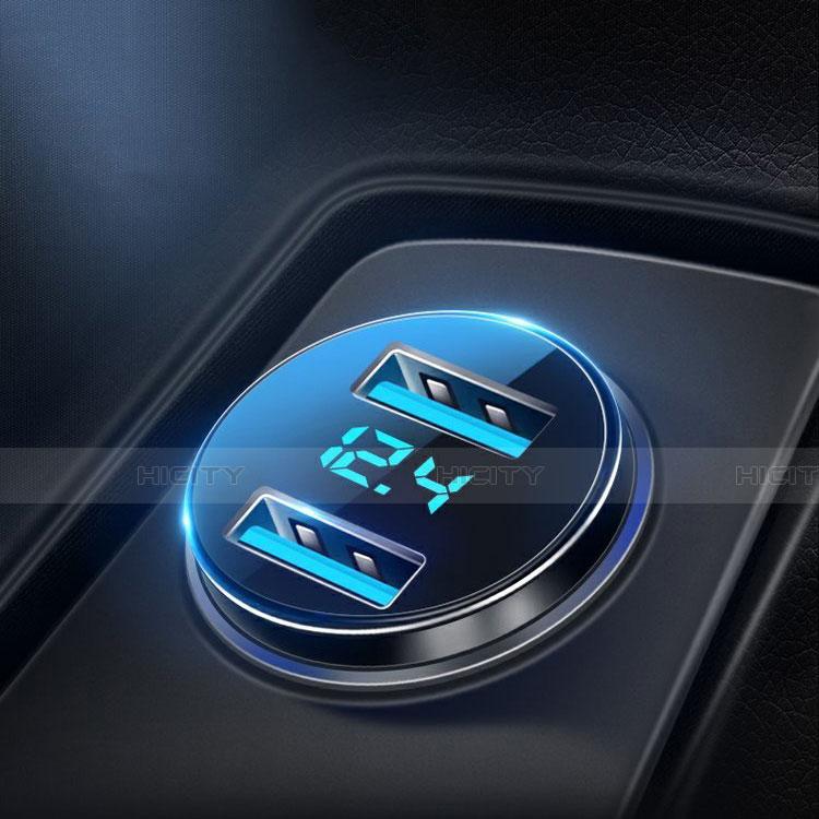 Kfz-Ladegerät Adapter 4.8A Dual USB Zweifach Stecker Fast Charge Universal K10 groß
