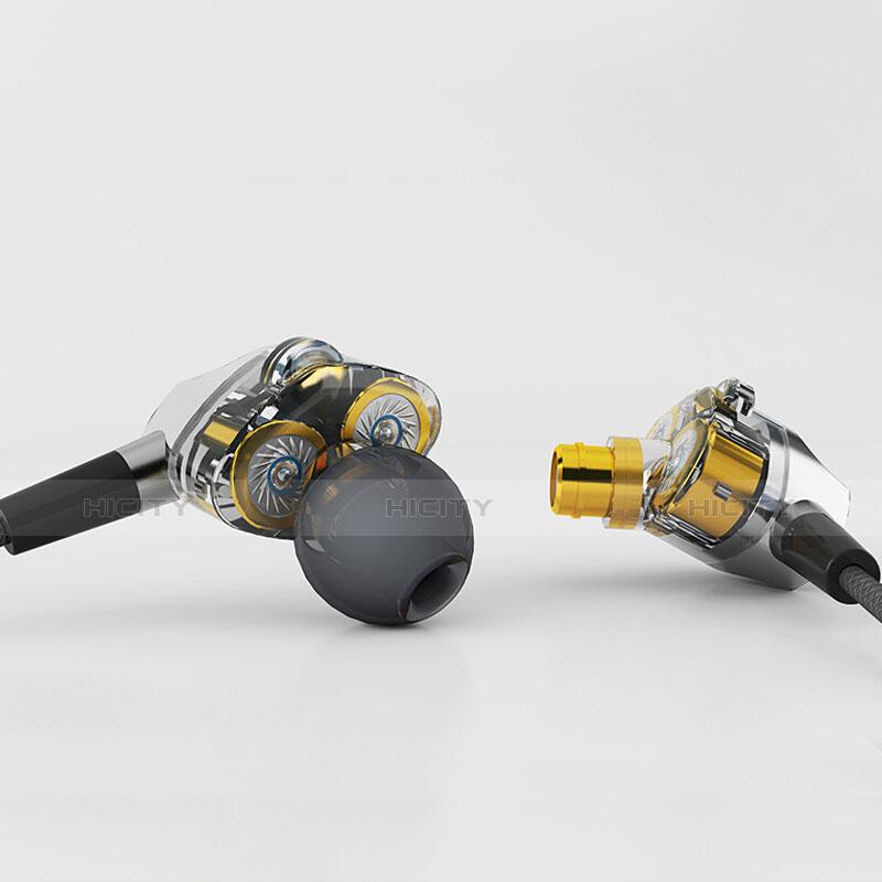 Kopfhörer Stereo Sport Ohrhörer In Ear Headset H04 Silber groß