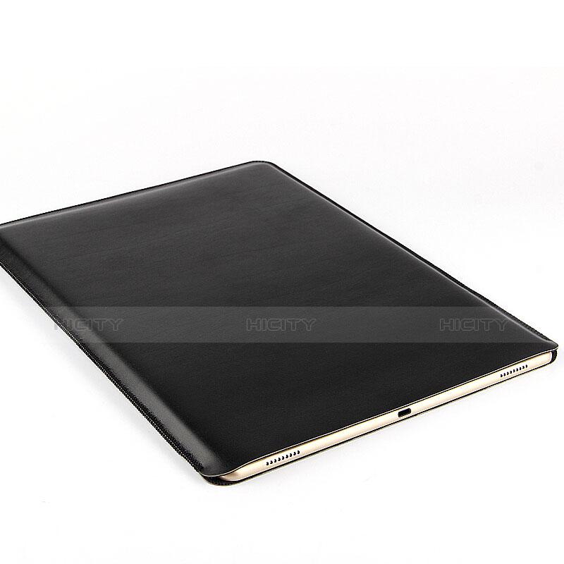 Leder Handy Tasche Sleeve Schutz Hülle für Huawei MatePad 10.4 Schwarz groß