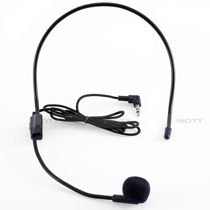 Mini-Stereo-Mikrofon Mic 3.5 mm Klinkenbuchse K03 Schwarz Plus