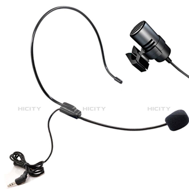 Mini-Stereo-Mikrofon Mic 3.5 mm Klinkenbuchse M11 Schwarz Plus