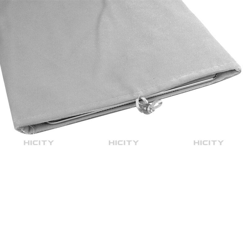 Samt Handy Tasche Schutz Hülle für Huawei MatePad 10.4 Weiß groß