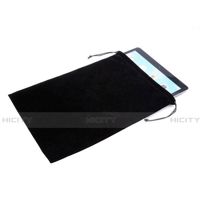 Samt Handy Tasche Sleeve Hülle für Huawei MatePad 10.4 Schwarz Plus