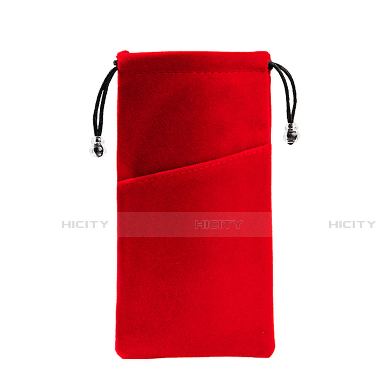 Schmuckbeutel Schwarz Samtbeutel Geschenktasche Universal K02 groß