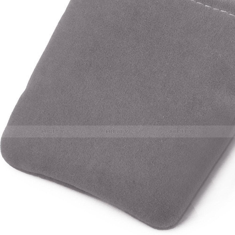 Schmuckbeutel Schwarz Samtbeutel Säckchen Universal Grau groß