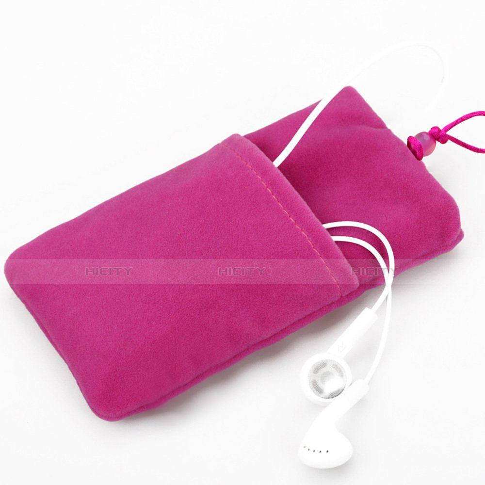 Schmuckbeutel Schwarz Samtbeutel Säckchen Universal Pink groß