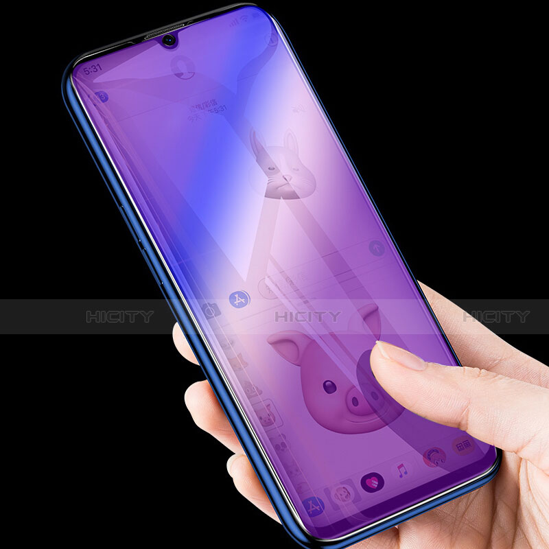 Schutzfolie Displayschutzfolie Panzerfolie Gehärtetes Glas Glasfolie Anti Blue Ray Skins zum Aufkleben Panzerglas B03 für Huawei Honor 20 Lite Klar