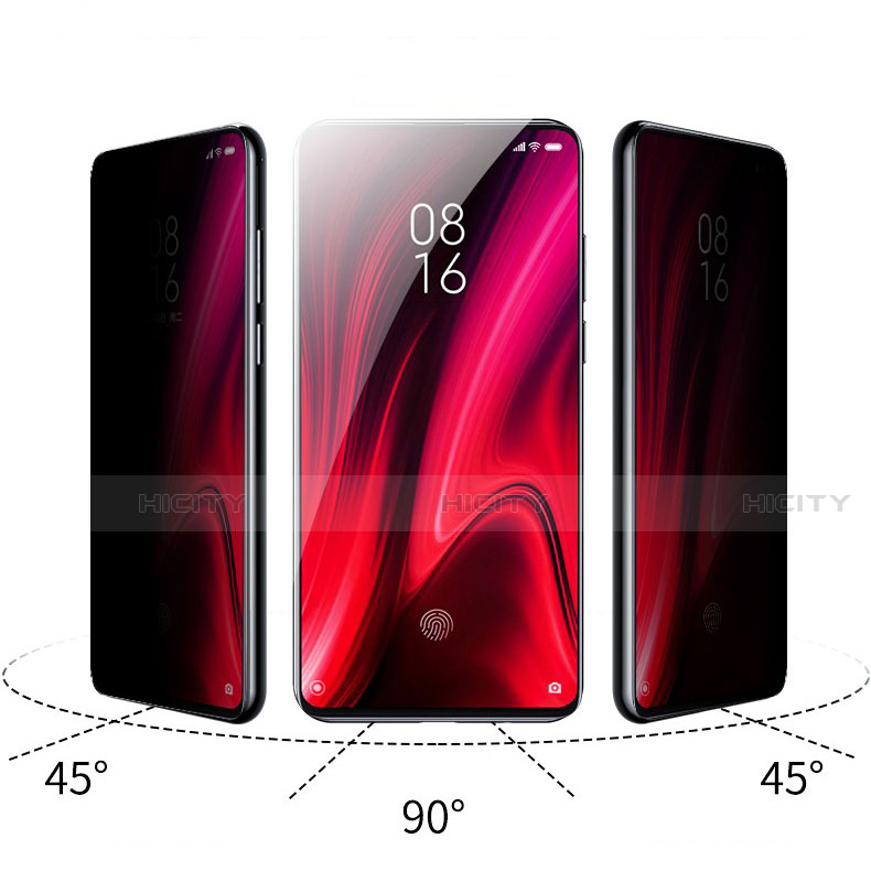 Schutzfolie Displayschutzfolie Panzerfolie Gehärtetes Glas Glasfolie Privacy Skins zum Aufkleben Panzerglas für Xiaomi Mi 9T Pro Klar groß