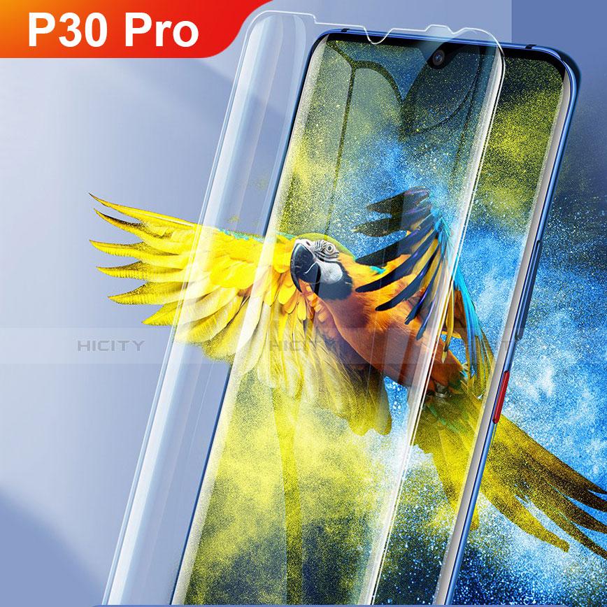 Schutzfolie Displayschutzfolie Panzerfolie Gehärtetes Glas Glasfolie Skins zum Aufkleben Panzerglas für Huawei P30 Pro Klar Plus