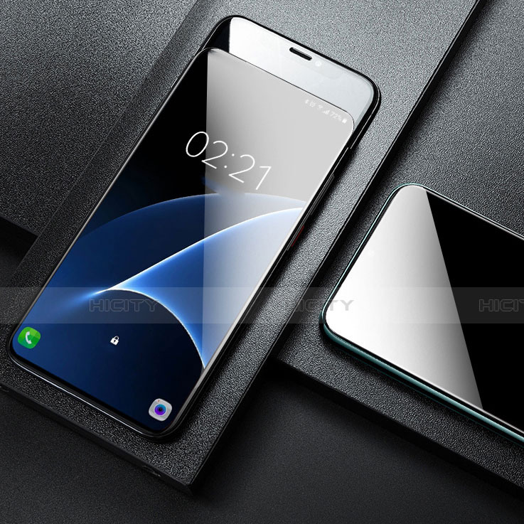 Schutzfolie Displayschutzfolie Panzerfolie Gehärtetes Glas Glasfolie Skins zum Aufkleben Panzerglas T01 für Samsung Galaxy A80 Klar groß