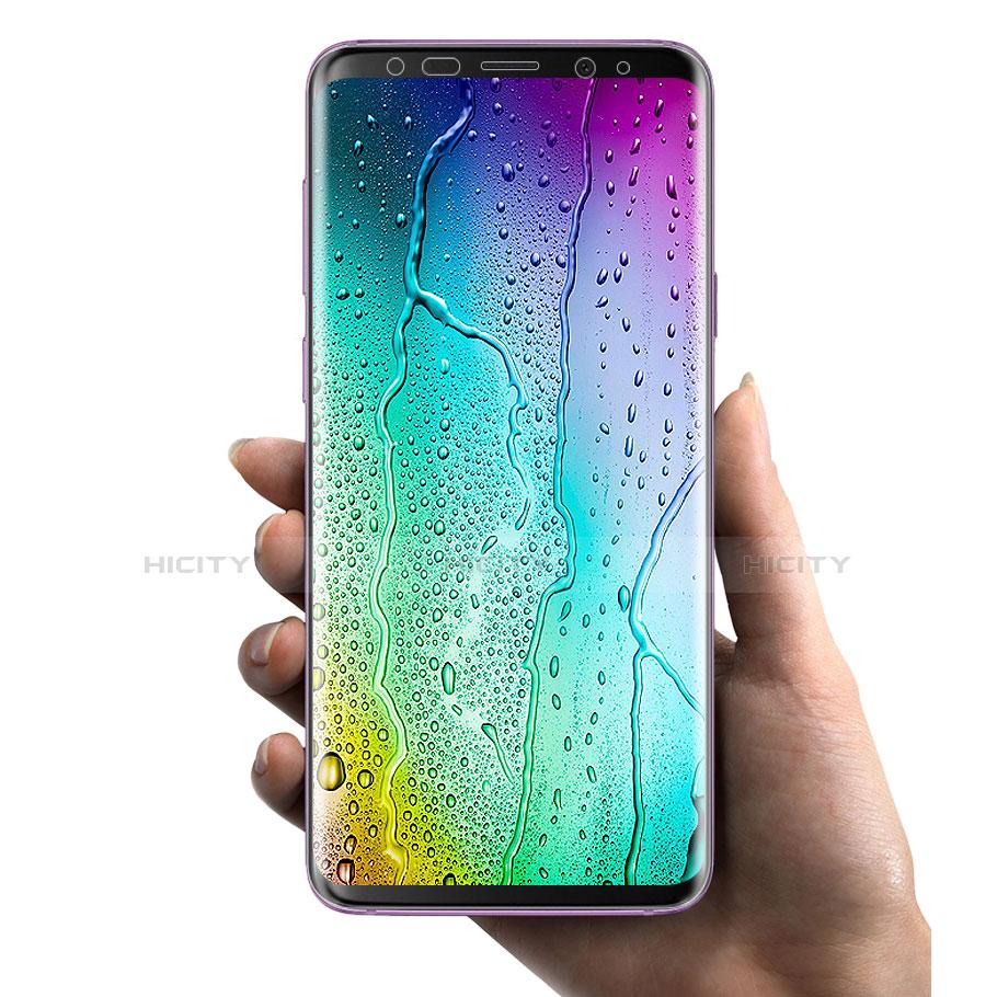 Schutzfolie Displayschutzfolie Panzerfolie Skins zum Aufkleben für Samsung Galaxy S9 Plus Klar groß