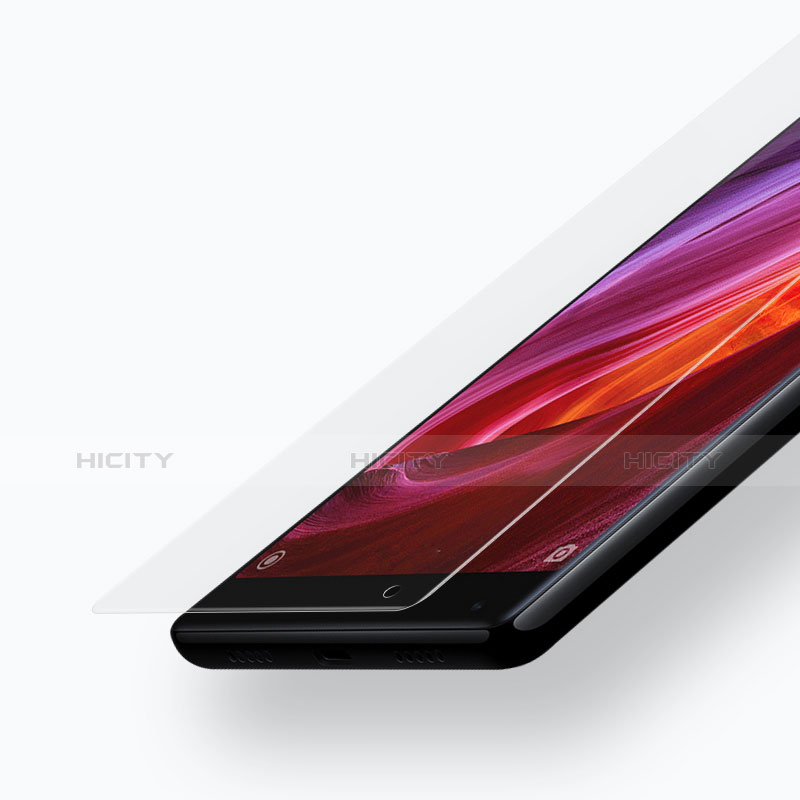 Schutzfolie Displayschutzfolie Panzerfolie Skins zum Aufkleben Gehärtetes Glas Glasfolie 3D für Xiaomi Mi Mix Klar groß