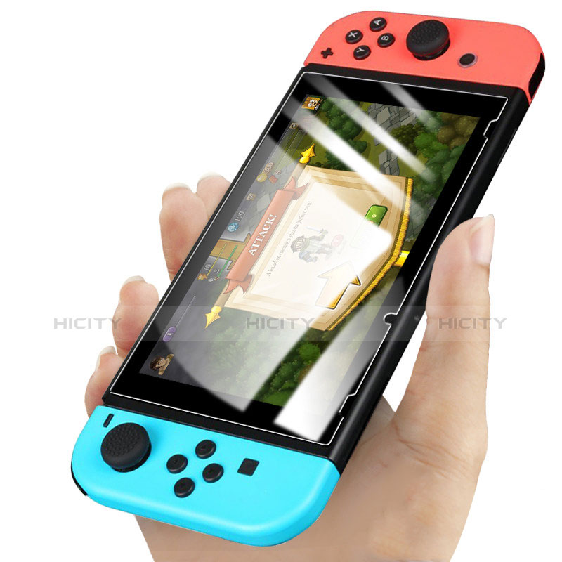 Schutzfolie Displayschutzfolie Panzerfolie Skins zum Aufkleben Gehärtetes Glas Glasfolie für Nintendo Switch Klar Plus