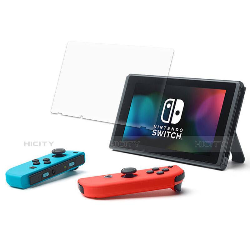 Schutzfolie Displayschutzfolie Panzerfolie Skins zum Aufkleben Gehärtetes Glas Glasfolie T04 für Nintendo Switch Klar groß
