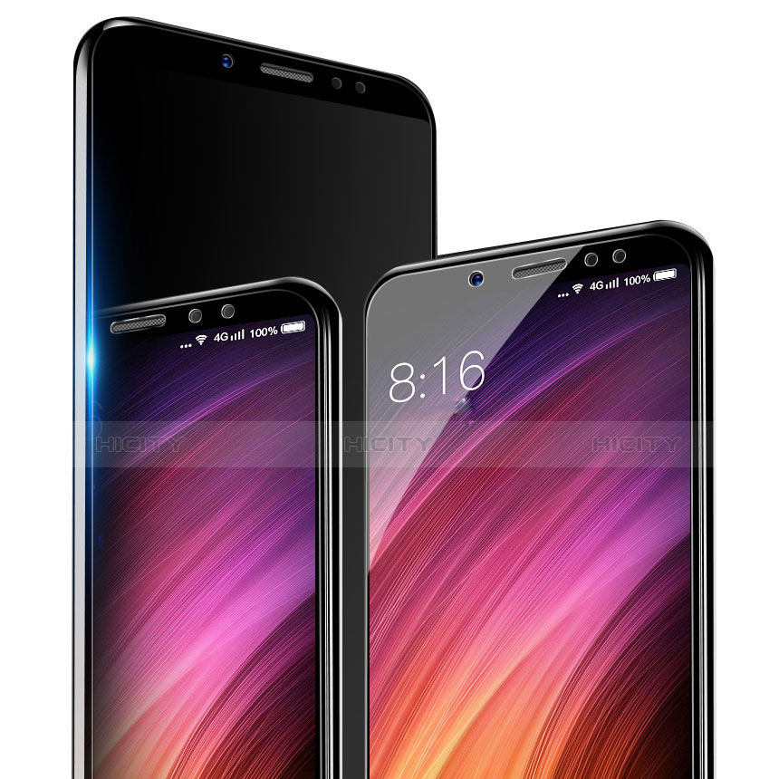 Schutzfolie Displayschutzfolie Panzerfolie Skins zum Aufkleben Gehärtetes Glas Glasfolie T04 für Xiaomi Redmi Note 5 Pro Klar Plus
