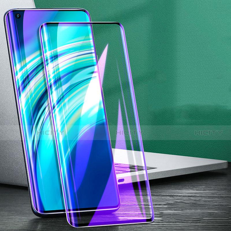 Schutzfolie Full Coverage Displayschutzfolie Panzerfolie Gehärtetes Glas Glasfolie Anti Blue Ray Skins zum Aufkleben Panzerglas für Xiaomi Mi 10 Ultra Schwarz Plus