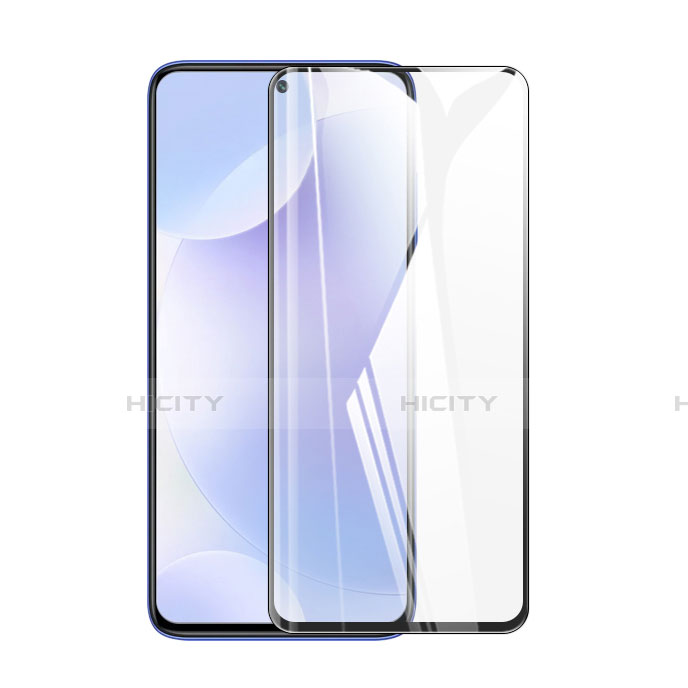 Schutzfolie Full Coverage Displayschutzfolie Panzerfolie Gehärtetes Glas Glasfolie Skins zum Aufkleben Panzerglas F02 für Xiaomi Poco X3 NFC Schwarz Plus