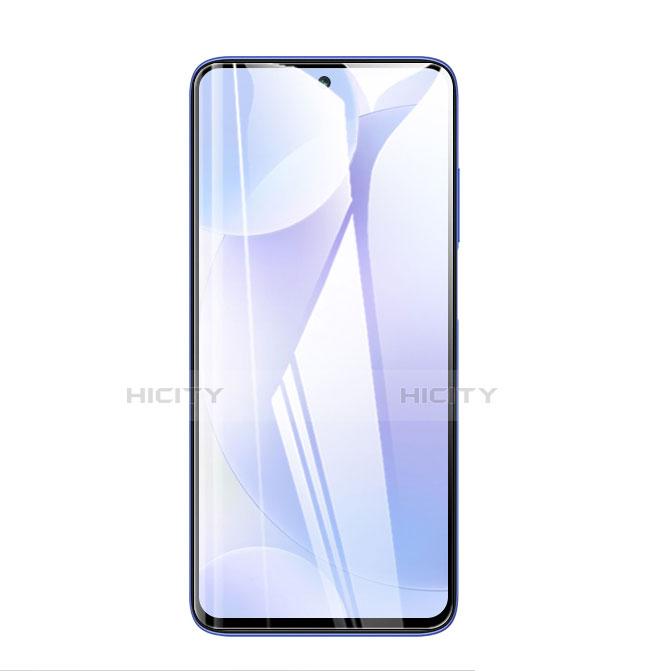 Schutzfolie Full Coverage Displayschutzfolie Panzerfolie Gehärtetes Glas Glasfolie Skins zum Aufkleben Panzerglas F02 für Xiaomi Poco X3 NFC Schwarz groß