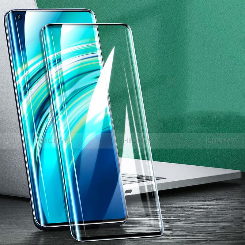 Schutzfolie Full Coverage Displayschutzfolie Panzerfolie Gehärtetes Glas Glasfolie Skins zum Aufkleben Panzerglas F03 für Xiaomi Mi 10 Ultra Schwarz groß