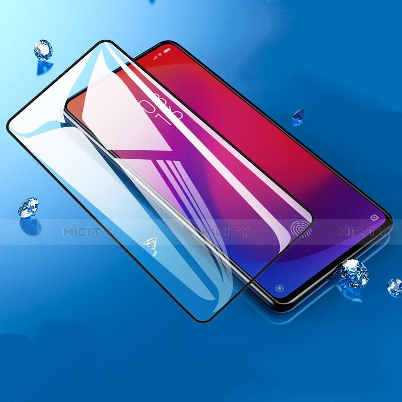 Schutzfolie Full Coverage Displayschutzfolie Panzerfolie Gehärtetes Glas Glasfolie Skins zum Aufkleben Panzerglas F04 für Xiaomi Mi 9T Schwarz groß