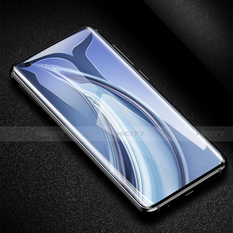 Schutzfolie Full Coverage Displayschutzfolie Panzerfolie Gehärtetes Glas Glasfolie Skins zum Aufkleben Panzerglas für Xiaomi Mi 10 Ultra Schwarz groß