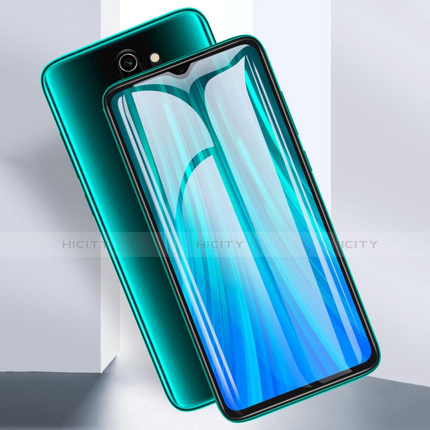 Schutzfolie Full Coverage Displayschutzfolie Panzerfolie Gehärtetes Glas Glasfolie Skins zum Aufkleben Panzerglas für Xiaomi Redmi Note 8 Pro Schwarz Plus